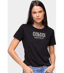 camiseta colcci basics feminina - feminino