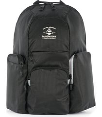 humble-bee free spirit sp diaper backpack - black
