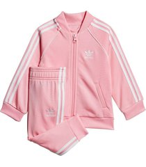 conjunto rosa adidas originals sst
