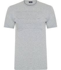 t-shirt masculina manga curta - cinza