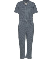 stretchy hickory coachella jumpsuit blauw mads nørgaard