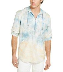 inc men's tie dye hoodie, created for macy's