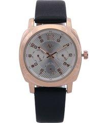 reloj dorado-blanco-negro versace 19.69