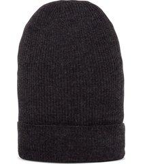 dolce & gabbana cashmere anthracite hat