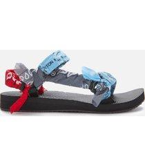arizona love women's trekky bandana sandals - mix blue - uk 8