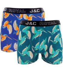 j&c heren boxer 2 pak 30061-xxl