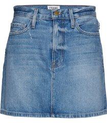 le mini skirt kort kjol blå frame