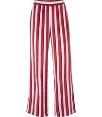 pantaloni culotte a righe con elastico in vita (rosso) - bpc bonprix collection