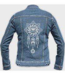 kurtka jeansowa dreamcatcher
