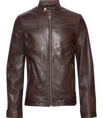 leather jacket leren jack leren jas bruin lindbergh