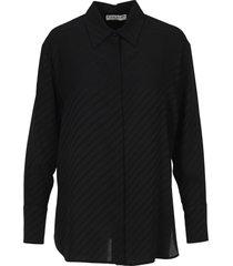 givenchy jacquard-woven chain shirt