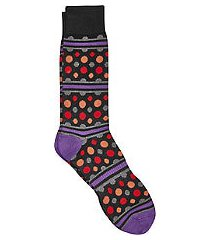 jos. a. bank comfort luxe dotted socks, 1-pair