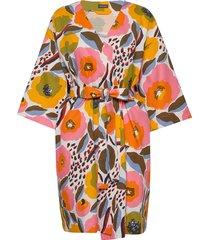 rosarium waffle bathrobe morgonrock multi/mönstrad marimekko home