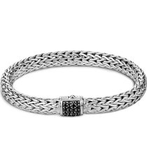 'classic chain' sapphire silver lava bracelet