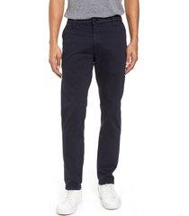 men's big & tall mavi jeans johnny twill pants, size 32 x 36 - blue