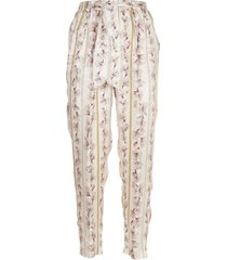 forte forte guadalupe print trousers