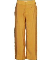 ariennegz culottes hs19 wijde broek geel gestuz