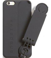 snapstyk women's iphone 6/6s case - silver