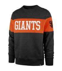 '47 brand san francisco giants men's interstate crew sweatshirt