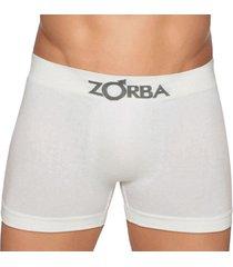 cueca boxer seamless algodão zorba 781 p/gg branco