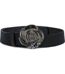 giorgio armani pre-owned rose belt - black