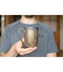 kubek ceramiczny rustykalne złoto 325 ml
