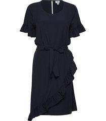 alisa dress jurk knielengte blauw twist & tango