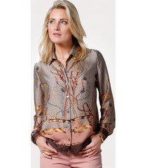 blouse mona bruin