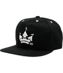 boné aba reta snapback hoshwear classic logo