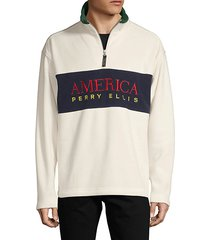 america half-zip sweater
