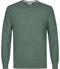 profuomo pullover crew neck green mel