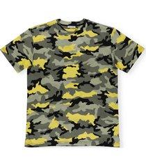 dolce & gabbana camouflage print t-shirt