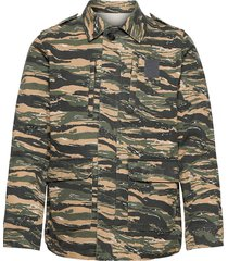 kido heavy cotton camou outerwear tunn jacka grön zadig & voltaire
