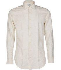 beige viscose-blend shirt