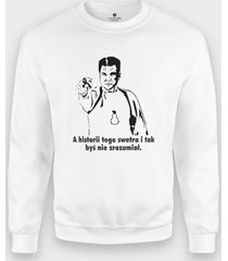 bluza a historii tego swetra..