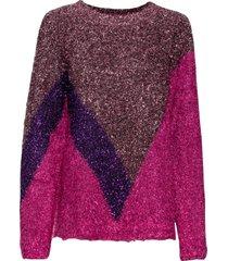 tröja med glittrig effekt