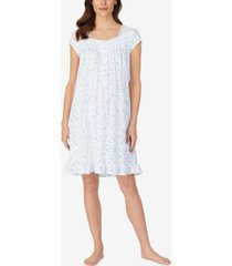women's short cap sleeve nightgown