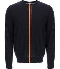 paul smith artisy stripe wool sweater