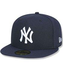 boné new york yankees 5950 game cap fechado azul - new era - kanui