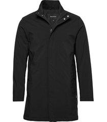 miles nn winter car coat trenchcoat lange jas zwart matinique