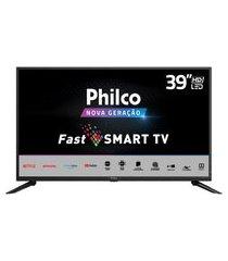"""smart tv philco 39"""" ptv39g50s led - netflix bivolt"""