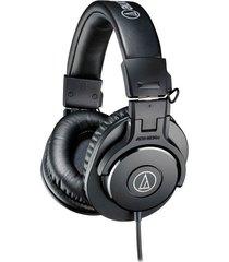 audifonos monitoreo audiotechnica athm30xbk negro