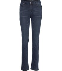 33 the celina high straight custom raka jeans blå denim hunter