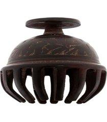 sino mesa- pashmina- bronze- marrom - kanui