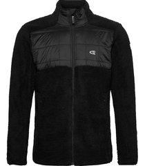 pm baffle mix fz fleece sweat-shirts & hoodies fleeces & midlayers zwart o'neill