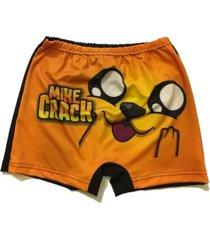 short de baño amarillo licences group mike crack funny store