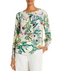 marella cancan silk floral blouse