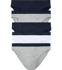 slip (pacco da 5) (blu) - bpc bonprix collection