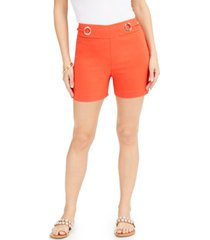 thalia sodi embellished pull-on shorts