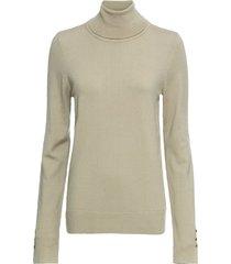 maglione a collo alto (beige) - rainbow